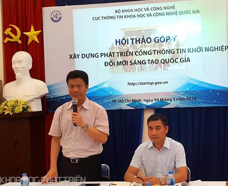 Ông Trần Đắc Hiến cho biết, Cổng sẽ chính thức vận hành vào cuối năm 2018